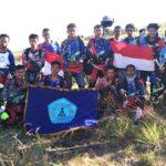 Peringati HUT RI ke-71, SMC dan Treco Taklukan Tambora