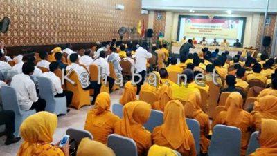 Suasana Musda DPD II Partai Golkar Kabupaten Bima. Foto: Ady