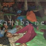 Gigih Berjuang, Warga Oi Katupa Tidur Dibawah Pohon Halaman DPRD