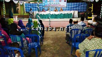 Anggota DPRD Kota Bima Dapil I saat Reses di Lingkungan Tolotongga Kelurahan Jatiwangi. Foto: Bin