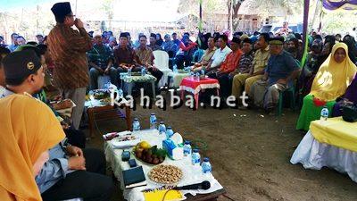 Anggota DPRD Kota Bima Dapil I saat reses di Kelurahan Kolo. Foto: Bin