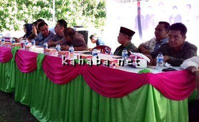 Anggota DPRD Kota Bima Dapil II saat Reses di Kelurahan Santi dan Matakando. Foto: Eric