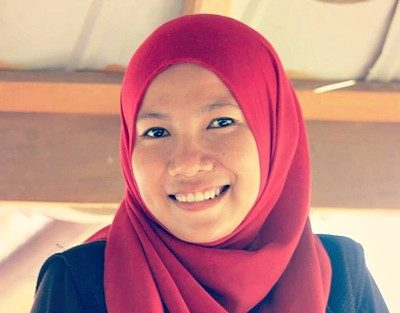 Anggota LPA Kota Bima, Lily Marfuatun. Foto: Istimewa