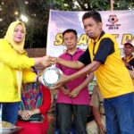 Bupati Bima Buka Turnamen Sepak Bola Sangia Cup