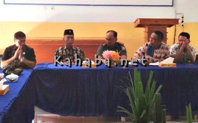 Dandim 1608 Bima saat menghadiri pertemuan FKUB Kota Bima. Foto: Ady