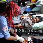 Lantas Polres Bima Kota Gelar Donor Darah dan Bagi Air Bersih