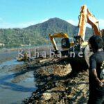 Excavator DKP Akhirnya Dievakuasi