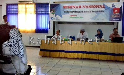 IGI Kota Bima saat menggelar seminar nasional. Foto: Eric