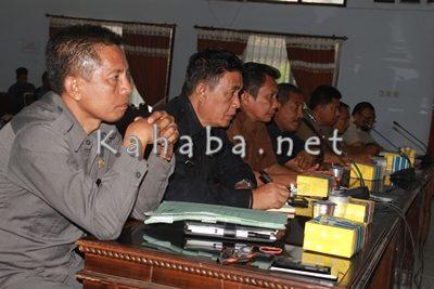 Jajaran tim investigasi dari SKPD. Foto: Bin