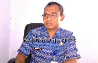 Kabid Pendapatan DPPKAD Kota Bima, Heri Wahyudi. Foto: Bin