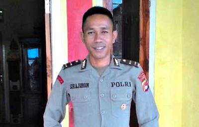 Kapolsek Langgudu IPDA. Sirajuddin. Foto: Istimewa