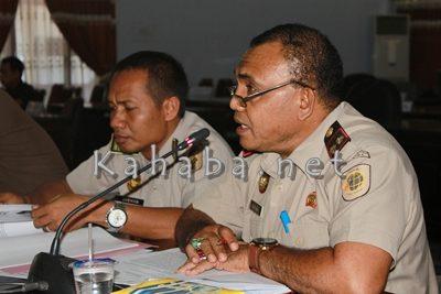 Kepala BPN Kabupaten Bima Said Asa. Foto: Bin