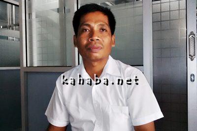 Kepala Rusunawa Muhammad Salahuddin. Foto: Bin
