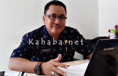 Kepala UPT Pasar Amahami, Irwansyah. Foto: Eric