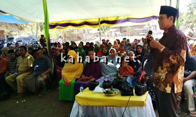 Ketua LPM Kelurahan Kolo Syamsudin saat menyampaikan kritik untuk Lurah Kolo. Foto: Bin