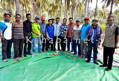 Ketua PAN bersama 14 Kades. Foto: Ady