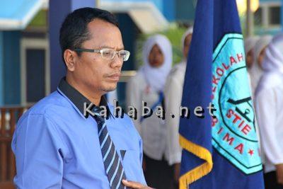 Ketua STIE Bima Firdaus. Foto: Bin