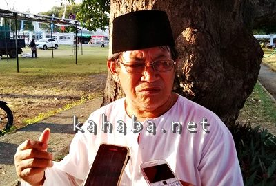 Ketua panitia pelantikan Jena Teke, A. Karim. Foto: Ady