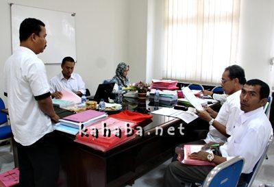 LPPD Kota Bima dievaluasi. Foto: Eric