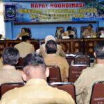 Rakor Pembinaan Pembangunan Kabupaten dan Kota Digelar