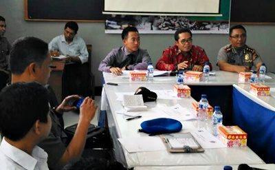 Rakor cegah peredaran narkoba dan tramadol yang digelar Polres Bima dan instansi terkait. Foto: Polres Bima
