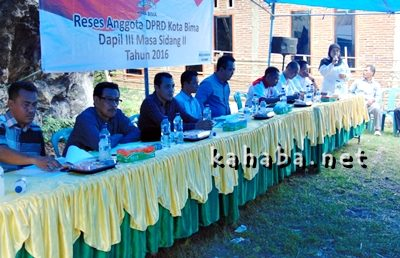 Reses Dapil 3 di Kumbe. Foto: Ady