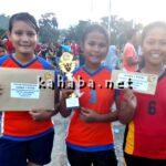 Tim Sepak Takraw Putri SMPN 1 Juara