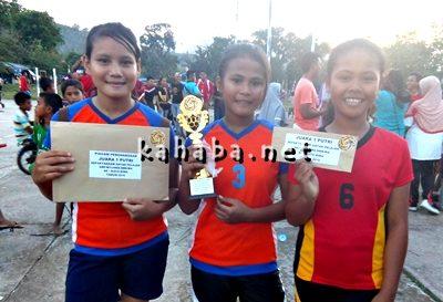 Tim Sepak Takraw putri SMPN 1 Kota Bima. Foto: Eric