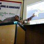 Walikota Bima Paparkan Pembangunan Kota Bima Pada Rapat Kerja BMMB