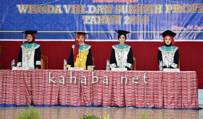 Wisuda Akbid Harapan Bunda Bima. Foto: Eric