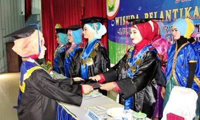 Wisuda Akbid Surya Mandiri Bima. Foto: Hum