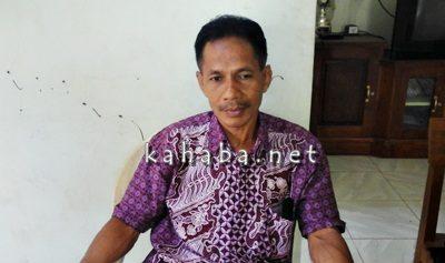 Ahli waris tanah bangunan Polindes di Kelurahan Rontu, Sahlil. Foto: Deno