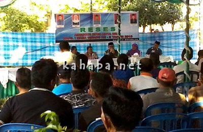 Anggota DPRD Kota Bima Reses di Kelurahan Jatibaru. Foto: Bin