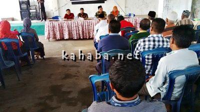 DPRD Kota Bima Dapil I saat Reses di Lingkungan Benteng Kelurahan Melayu. Foto: Bin
