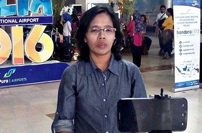 Fitri Rachmawati, Ketua AJI Mataram. Foto: Abdul Latif Apriaman (Facebook)