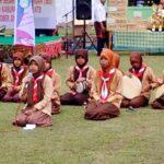 Komunitas Pramuka Peduli Kampanye Cuci Tangan Lewat Grup Syalawat