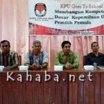 Jaring Pemilih Pemula, KPU Gelar Kegiatan Go to School