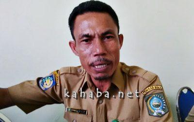 Kasubbag Program dan Pelaporan Dinas Pertanian Tanaman Pangan dan Hortikultura Kabupaten Bima Muhammad Farid. Foto: Noval