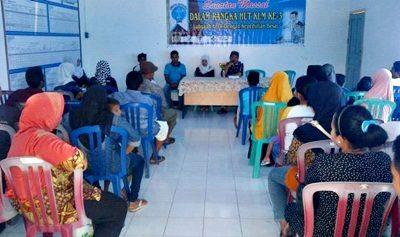 Kegiatan sunatan massal yang digelar KLM Bima di Kelurahan Tanjung. Foto: Dok. KLM Bima
