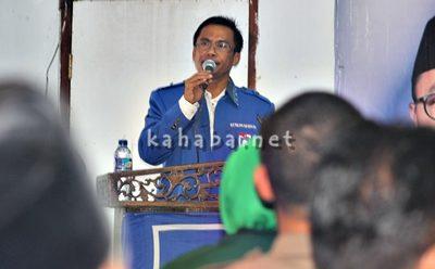 Ketua DPD II Partai Amanat Nasional (PAN) Kota Bima Feri Sofiyan. Foto: Bin
