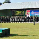 Kodim 1608 Bima Gelar Upacara HUT TNI ke-71