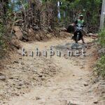Akses Jalan Rusak, Bantuan DDA di Ntoke Habis Diongkos