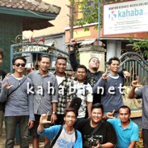 La Hila Band Nongkrong di Kantor Kahaba.net