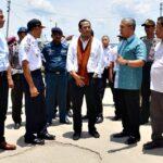 Menteri Perhubungan Tinjau Pelabuhan dan Bandara Bima