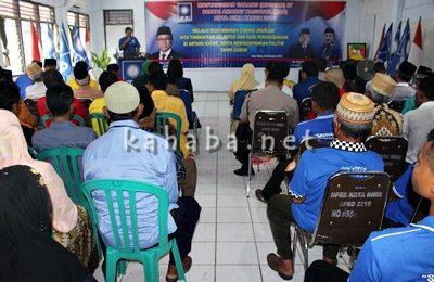 Musyawarah Cabang (Muscab) DPD II PAN Kota Bima ke-IV. Foto: Bin