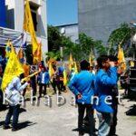 PMII Turun Demo, Sorot Parkir dan Bongkar Muat