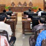 DPRD Kota Bima Paripurna Laporan Pansus Raperda Pembentukan dan Susunan Perangkat Daerah