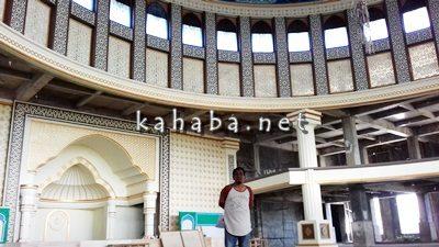 penanggung jawab tekhnis pembangunan Masjid Al Muwahidin Bima Dedy Mawardi. Foto. Eric