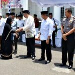 Walikota dan Wawali Terima Kepulangan Jamaah Haji Kota Bima