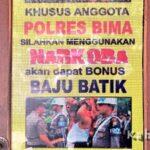 Polisi Disilahkan Pakai Narkoba, Tapi 'Bonusnya' Baju Batik